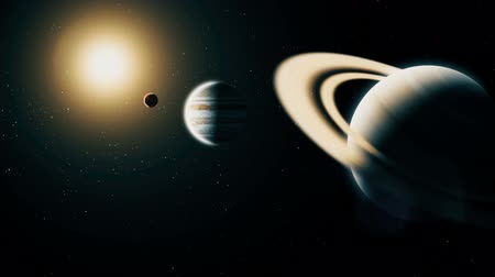 kepler : Realistic planet Saturn from deep space