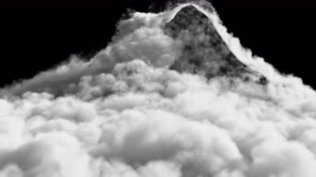 avalanche : An avalanche of Smoke formed after a strong explosion. Contains the alpha channel.