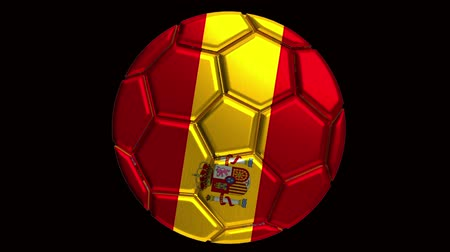 áttekinthetőség : Spain soccer ball with alpha clip to make any background