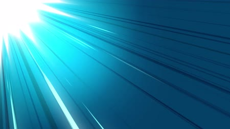 Blue speed lines motion graphics