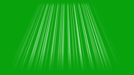 Rays of light with green screen background 1
