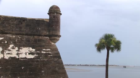 alvenaria : The Fort Castillo de San Marcos National Monument in Saint Augustine, Florida, United States