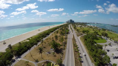ave : Miami Haulover Beach Collins Ave Cars Aerial South
