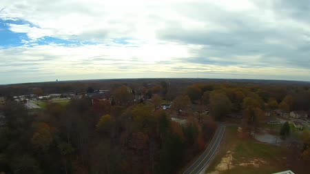 sc : aerial over white rose city york south carolina