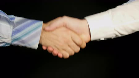 рукопожатие : Business Greeting Mens Handshake