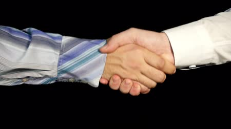 compromise : Slow Business Greeting Mens Handshake