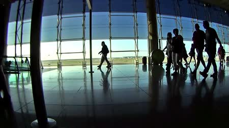bagagem : People on the aeroport