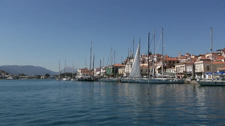 Along the coast of Poros island, Aegean Sea, Greece.