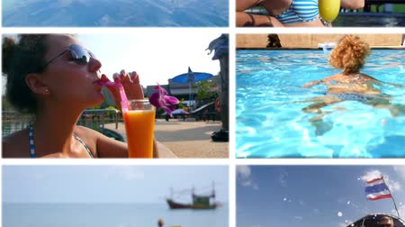 távozás : Enjoying Vacation - Montage Collection