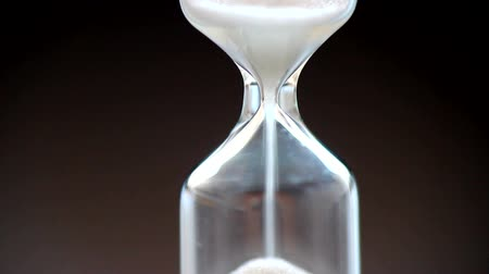 contagem regressiva : Hourglass-close up