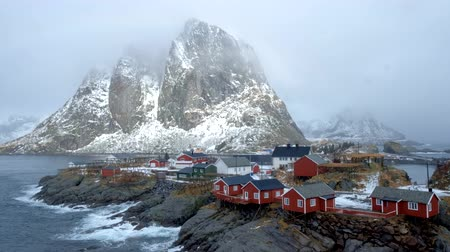 fishing village : Hamnoy village on Lofoten Islands, Norway
