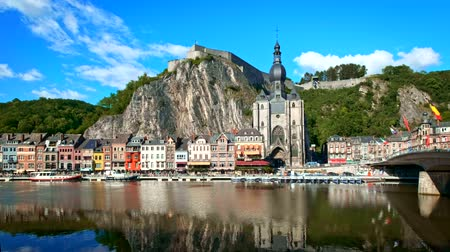 デイム : View of Dinant town, Belgium