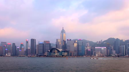 Hong Kong Skyline. HongKong, China