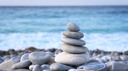 stacked rock : Zen balanced stones stack