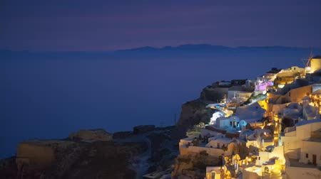 Санторини : Famous greek tourist destination Oia, Greece