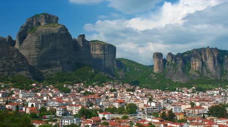 kalambaka : Scenic landscape of Meteora in Greece