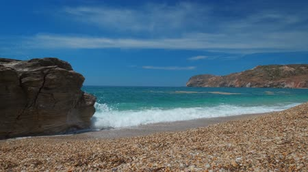 Киклады : Paleochori beach, Milos island, Cyclades, Greece
