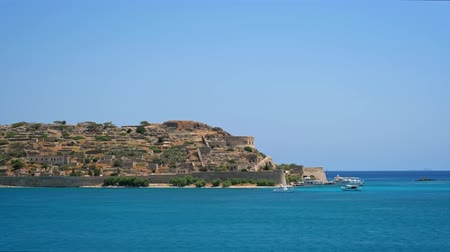 elounda : Island of Spinalonga, Crete, Greece