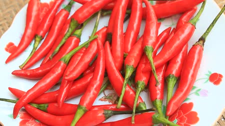 paprika : chili peppers as a spice