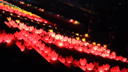 religioso : The candles in traditional festival, Vietnam