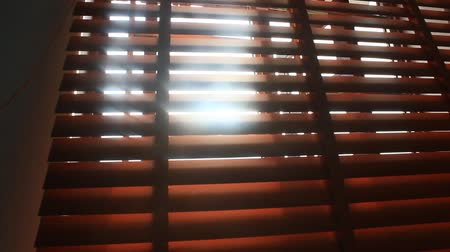 rolety : Sunlight through blinds Wideo