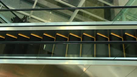 tremulous : Shown are Constantly shaking escalators upstairs m