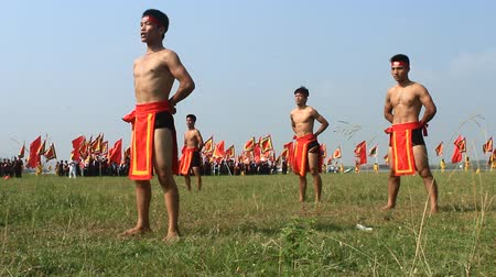 tremulous : Performing in traditional martial arts festivals, Asia
