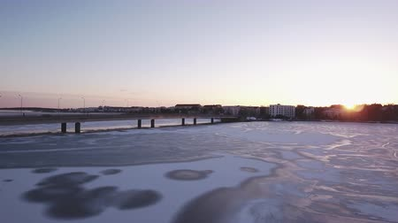 hall : The frozen sea in the city of Helsinki coming from the winter season in the country