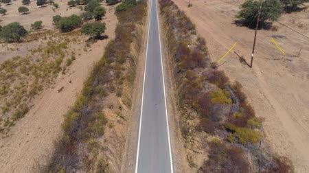 Aerial View Road in Rural Landscape Alentejo, Portugal Dostupné videozáznamy