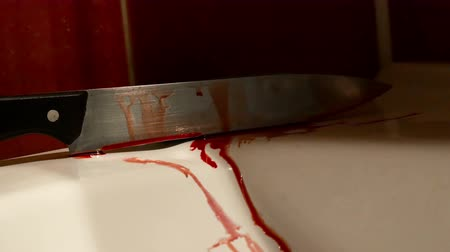 bıçak : knife dripping with blood