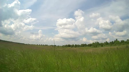 znicz : Meadow and fast clouds , time lapse