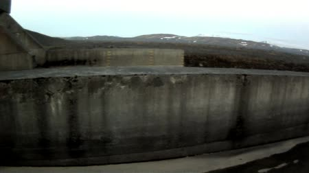 Dam on the iceland