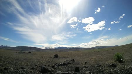 znicz : View on the hella vulcano in sunny day on iceland