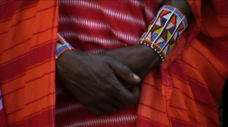 törzsi : jewels traditional decoration Masai tribe