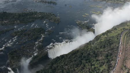 Виктория : Victoria falls en to the border of the Zimbabwe