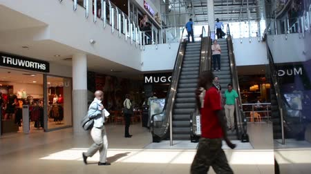 moderní : LUSAKA-ZAMBIA, May 12,2014:shopping centre Manda Hill is a modern shopping centre and the first of its kind in Zambia, occupies 8.1420 hectares of land.