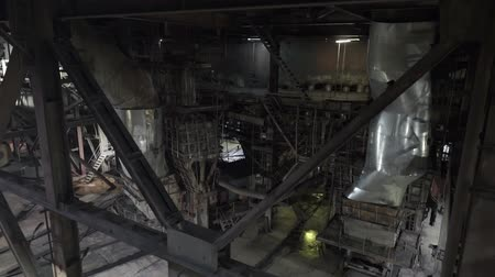 pilon : Power plant. inside view of the combined heat and power plant