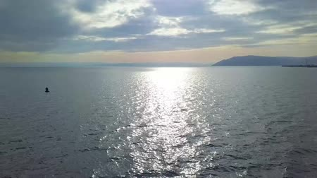 rochoso : Beautiful Lake View. Drone view. Lake Baikal