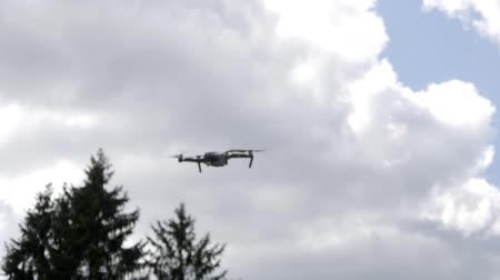 drone flies in the air