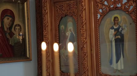 madona : Orthodox icon in the church