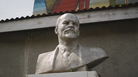 socialist party : a bust of Lenin