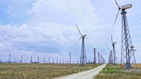 поколение : wind farm power generation industrial