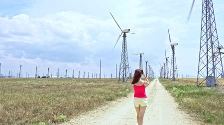 возобновляемый : wind farm power generation industrial