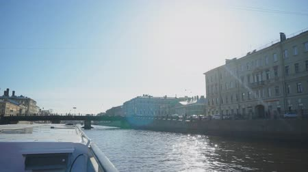 st petersburg : Water excursions along the rivers and canals. Petersburg.