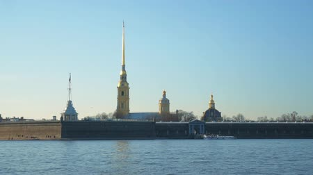 sto : Peter and Paul Fortress in St. Petersburg, on the Hare Island.