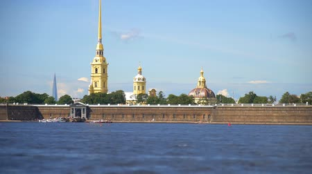 peter and paul fortress : Peter and Paul Fortress in St. Petersburg, on the Hare Island.