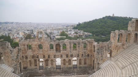amfiteátr : Odeon of Herodes Atticus or Herodeon in Athens.