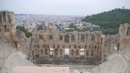 odeum : Odeon of Herodes Atticus or Herodeon in Athens.