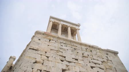акрополь : The Temple of Niki Apteros in the Athenian Acropolis.