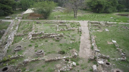 on site research : Excavations of ancient archaeological site.
